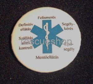 Konstantin feliratos kitűző