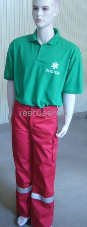 vízlepergetős vékony 1 ezüst csíkos paramedic nadrág