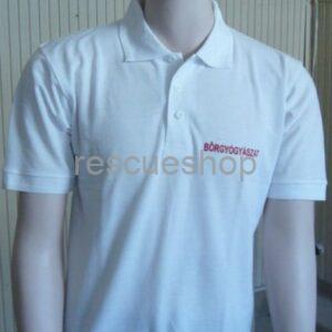Bőrgyógyászat feliratos ingnyakas póló