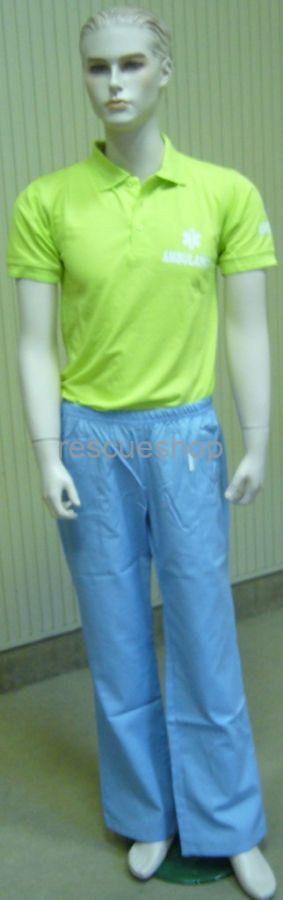 Műtős nadrág kék