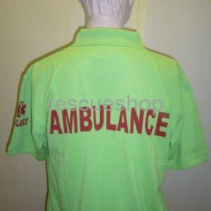 Ingnyakas kórházi póló extra, AMBULANCE színes