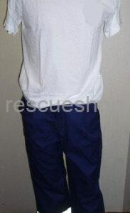Rescue nadrág mentős fazonú, extra kicsi/nagy méret, ezüst