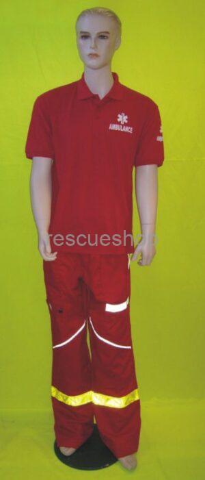 Ingnyakas sürgősségi póló színes AMB