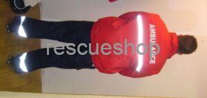 mentős,-betegszállító dzseki /fix béléses/ vízlepergetős