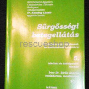 Sürgősségi betegellátás könyv
