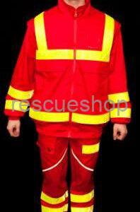 vízlepergetős sok fényvisszaverős mentős nadrág alul 2 csíkkal