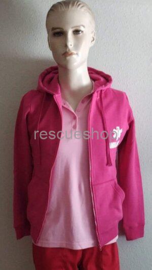 Pink slim fit pulóver