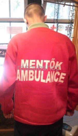 Ambulance+MENTŐK pulóver